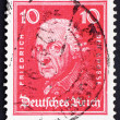 Postage stamp Germany 1926 Frederick the Great - Stock Photo