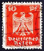Postage stamp Germany 1923 German Eagle — Stock Photo