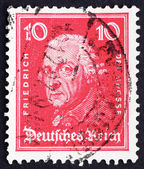 Postage stamp Germany 1926 Frederick the Great — Stock Photo
