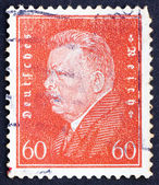 Postage stamp Germany 1928 Friedrich Ebert — Stock Photo