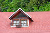 Window on roof — Stock Photo
