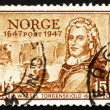 Royalty-Free Stock Photo: Postage stamp Norway 1947 Tordenskiold, Admiral