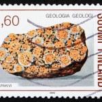 Postage stamp Finland 1986 Rapakivi granite — Stock Photo