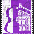 Stock Photo: Postage stamp Netherlands 1988 Amsterdam Concertgebouw and Orche