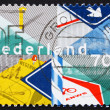 Foto Stock: Postage stamp Netherlands 1983 Royal Dutch Touring Club