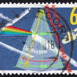 Postage stamp Netherlands 1988 Prism Splitting Light — Stock Photo