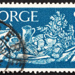 Postage stamp Norway 1963 Still Life — Stock Photo