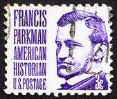 Frimärke usa 1967 francis parkman, historiker — Stockfoto