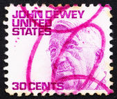 Postage stamp USA 1968 John Dewey, philosopher — Stock Photo