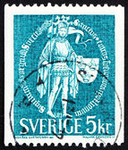 Postage stamp Sweden 1970 Great Seal, 1439 — Stock Photo