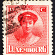 Postage stamp Luxembourg 1921 Charlotte, Grand Duchess of Luxemb — Stock Photo