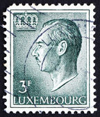 Postage stamp Luxembourg 1965 Jean, Grand Duke of Luxembourg — Stock Photo