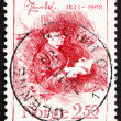Postage stamp Norway 1983 Jonas Lie, Writer - Foto Stock
