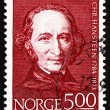 Postage stamp Norway 1984 Christopher Hansteen, Astronomer - Foto Stock