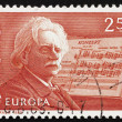 Postage stamp Norway 1983 Edvard Grieg, Composer — Stock Photo #9031197