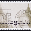 Postage stamp Netherlands 1990 Rotterdam Reconstruction — Stock Photo
