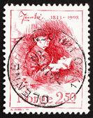 Postage stamp Norway 1983 Jonas Lie, Writer — Stock Photo