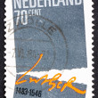 Stock Photo: Postage stamp Netherlands 1983 Symbolic Separation of Church