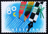 Postage stamp Netherlands 1993 Letter Writing Day — Stock Photo
