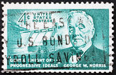 Postage stamp USA 1961 George William Norris, US Senator — Stock Photo
