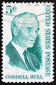 Postage stamp USA 1963 Cordell Hull, 47th US Secretary of State — Stock Photo