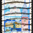 Postage stamp Finland 1979 Turku Cathedral and Castle, Prinkkala — Stock Photo