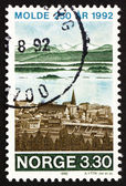 Postage stamp Norway 1992 Molde — Stock Photo