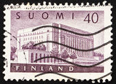 Postage stamp Finland 1956 House of Parliament, Helsinki — Stock Photo