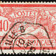 Postage stamp France 1900 Liberty and Peace, Allegory — Stock Photo