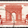 Postage stamp France 1931 Arc de Triomphe, Paris — Stock Photo #9128406