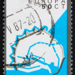 Royalty-Free Stock Photo: Postage stamp Netherlands 1982 Enkhuizen, Fortification Layout