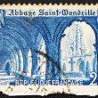 Postage stamp France 1949 Cloister of St. Wandrille Abbey — Stock Photo #9162790