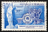 Postage stamp France 1957 Porcelain from Sevres — Stock Photo