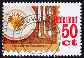 Postage stamp Netherlands 1985 Place setting — Stock Photo