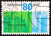 Postage stamp Netherlands 1991 Books — Stock Photo
