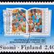 Postage stamp Finland 1994 Population Registers — Stock Photo