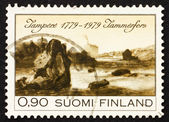 Postage stamp Finland 1979 View of Tampere — Stock Photo