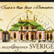 Stock Photo: Postage stamp Sweden 1970 Chinese Pavilion at Drottningholm Pal