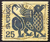 Postage stamp Sweden 1971 Griffin, Mythical Creature — Stock Photo