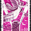 Postage stamp France 1968 Victory over White Tower of Salonika — Stock Photo