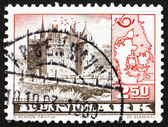 Postage stamp Denmark 1983 Egeskov Castle — Stock Photo