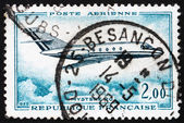 Postage stamp France 1965 Jet Plane, Mystere 20 — Stock Photo
