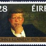 Постер, плакат: Postage stamp Ireland 1988 John F Kennedy