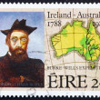 Postage stamp Ireland 1988 Robert O'Hara Burke — Stock Photo
