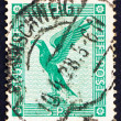 Postage stamp Germany 1924 German Eagle — Stock Photo
