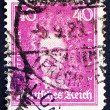 Stock Photo: Postage stamp Germany 1926 Gottfried Wilhelm Leibniz