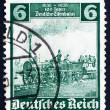 Postage stamp Germany 1935 The Eagle, Engine - Stock Photo