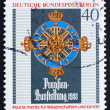 Stock Photo: Postage stamp Germany 1981 Order of Merit