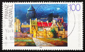 Postage stamp Germany 1994 The Water Tower in Bremen, by Franz R — Stock Photo