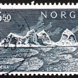 Postage stamp Norway 1969 Traena Island - Foto Stock